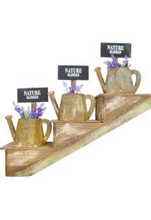 Escada Decorativa Com Vasos Rústicos Kasa Ideia - Tricae