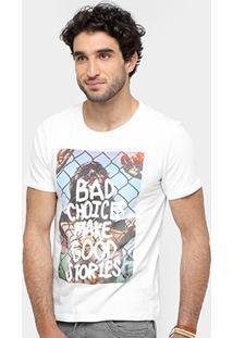 Camiseta Sergio K. Bad Choices Masculina - Masculino