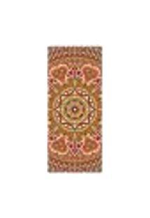 Adesivo Decorativo De Porta - Mandala - 2413Cnpt