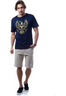 Camiseta Fallen Arms - Masculino-Marinho