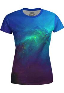 Camiseta Baby Look Galaxia Nebulosa Md04