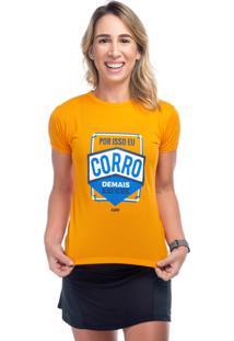 Camiseta Funfit Camiseta Laranja