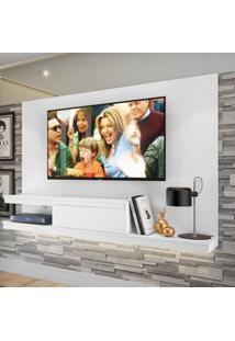 Painel Para Tv Até 60 Polegadas 1 Gaveta Kd2000 Home Quiditá Branco