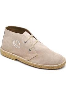 Bota Top Franca Shoes Casual - Masculino-Bege