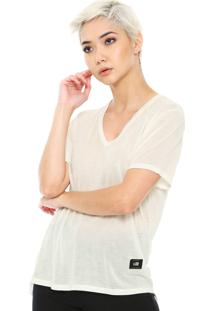 Camiseta Ellus 2Nd Floor Jersey Fine Off-White