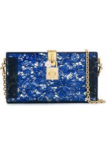 Dolce & Gabbana Bolsa Estampada - Azul