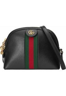 Gucci Bolsa Tiracolo Ophidia Pequena - Preto