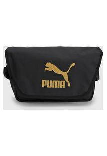 Pochete Puma Urban Mini Messenger Preta