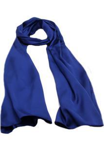 Echarpe Smm Acessorios Azul Bic