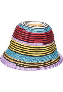 Missoni Mare Chapéu Com Padronagem - Vermelho