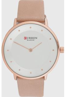 Relógio Curren C9033L /Rosa - Kanui