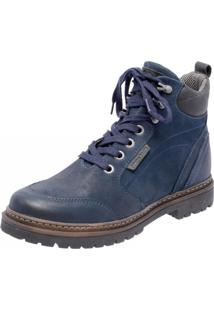 Bota Mega Boots 6023 Azul Marinho