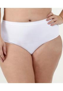 Calcinha Feminina Alta Plus Size Plié