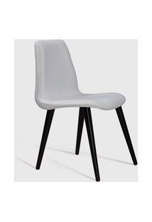 Cadeira Eames Tecido Pe Madeira Daf Cru Branca