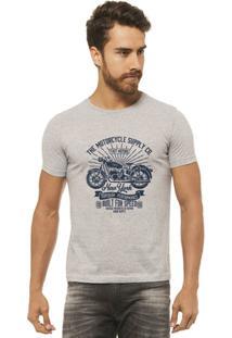 Camiseta Joss - The Motocycle - Masculina - Masculino-Mescla