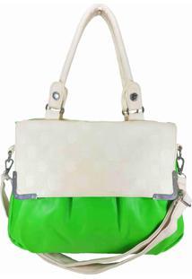 Bolsa Aphrodite By Elizabeth Apple Verde Neon