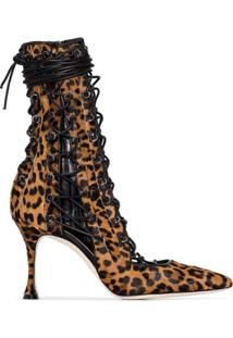 Liudmila Bota Durry Lane 100 Animal Print - Leopard
