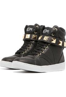 Sneaker K3 Fitness Single Preto