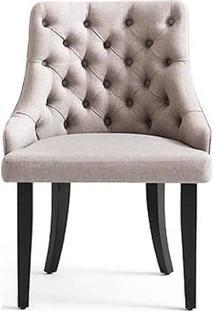 Cadeira Adele Capitonê Encosto Anatômico Design Contemporâneo Casa A Móveis