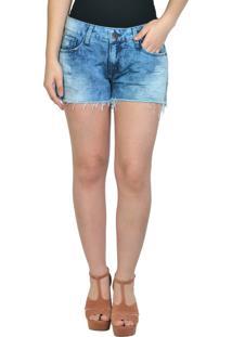 Shorts Jeans Claro Yck'S Azul