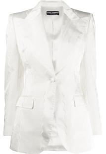 Dolce & Gabbana Blazer Slim - Branco