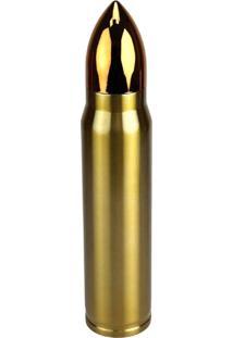 Garrafa Térmica Nautika 1 Litro Bullet Dourada