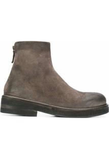 Marsèll Ankle Boot Clássica - Cinza