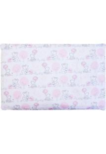 Travesseiro Papi Anti Sufocante Composê Rosa