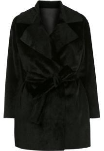 Apparis Faux Fur Jacket - Preto