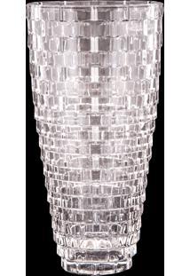 Vaso Decorativo De Cristal Reine Ii
