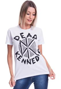 Camiseta Jazz Brasil Dead Kennedys Branco - Kanui