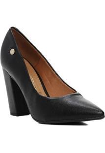 Sapato Scarpin Feminino Vizzano Preto