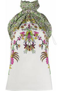 Givenchy Blusa Com Estampa Floral - Branco