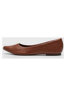 Sapatilha Dafiti Shoes Texturizada Caramelo