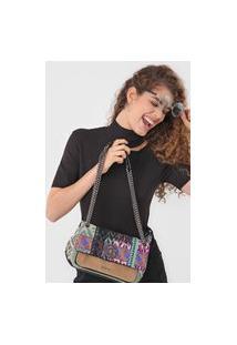 Bolsa Desigual Across Body Bag Queen Verde