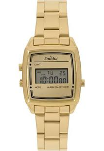 4740951971e Relógio Digital Digital Dourado feminino