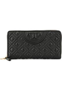Tory Burch Carteira Fleming - Preto