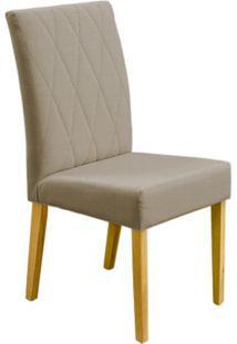Cadeira Jasmin 2 Peças - Damasco Natural Com Tecido 07