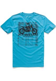 Camiseta Alpinestars Am Ride Azul Am Ride