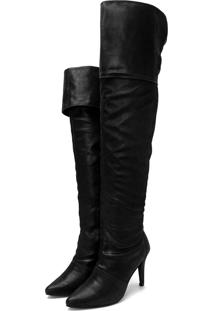 Bota Indian Line Over The Knee Preto