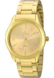 4349a1232e9 Relógio Digital Allora Tom Claro feminino