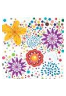 Papel De Parede Autocolante Rolo 0,58 X 3M - Floral 520