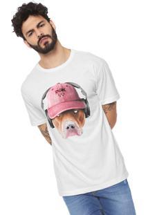 Camiseta Dgk Red Nose Branca