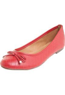 Sapatilha Dafiti Shoes Matelasse Vermelho