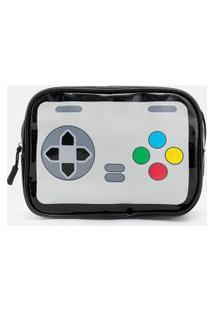 Necessaire Tijolão Estampa Game Control | Accessories | Preto | U