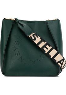 Stella Mccartney Bolsa Tiracolo Com Logo Stella - Verde