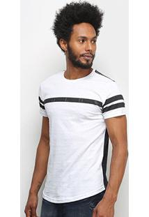 Camiseta Polo Rg 518 Swag Botonê Masculina - Masculino-Branco