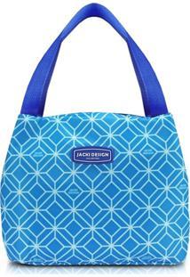 Bolsa Térmica Tamanho Médio Jacki Design Fresh Azul - Tricae
