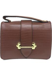 Bolsa Casual Sys Fashion 8536 Feminina - Feminino-Marrom