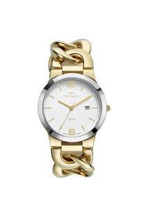 Relógio Technos Feminino Elos Analógico Dourado 2115Mwf1K
